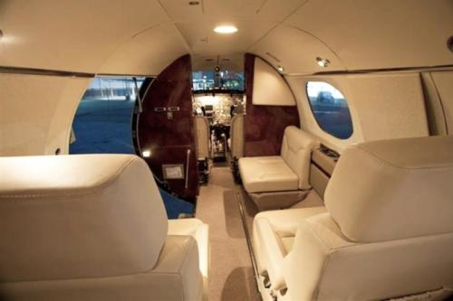 Learjet cabinePrivateFly-